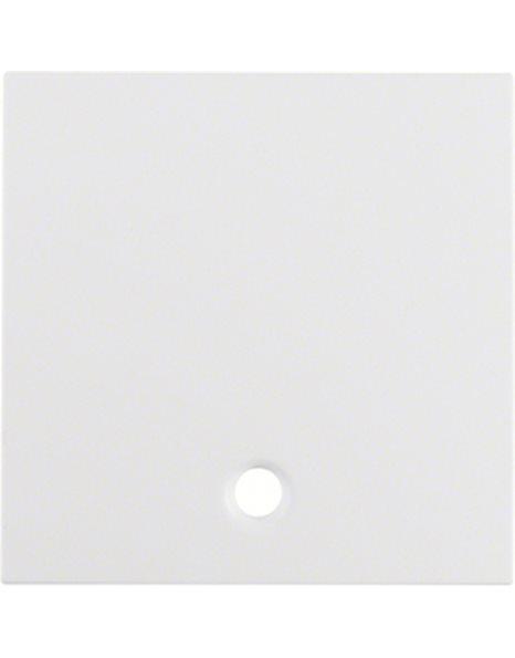 Πλακίδιο Διακόπτη/μπουτόν Λευκό